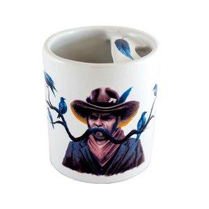 Bucardo Moustache Mug - Cowboy
