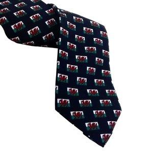 The Tie Studio London - Welsh Flag