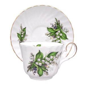 Berta Hedstrom Lily of the Valley Teacup and Saucer