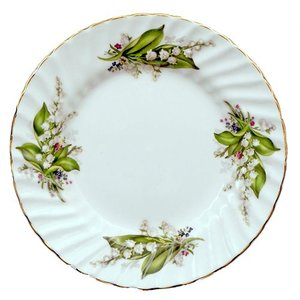 Berta Hedstrom Lily of the Valley 8 in. Plate