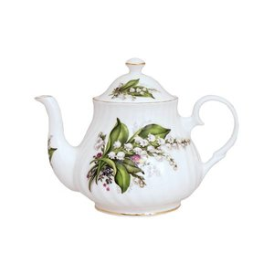 Berta Hedstrom Lily of the Valley 4 Cup Teapot
