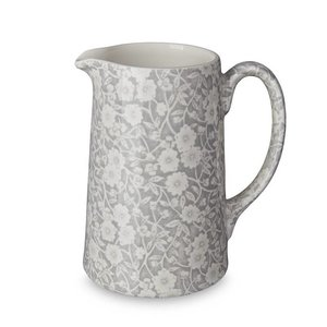 Burleigh Pottery Calico Grey Medium Tankard Jug