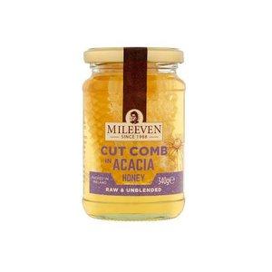 Mileeven Cut Comb Acacia Honey