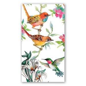 Michel Design Works Michel Bird Song Hostess Napkins