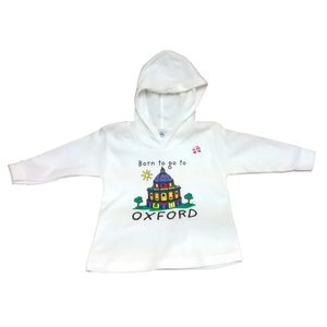 Born to Go to Oxford Hoodie