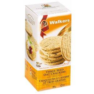 Walker's Shortbread Co. Walkers Three Seed Oat Crackers