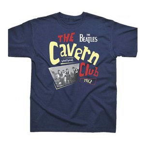 Spike Leissurewear The Beatles Cavern Club 1962 Navy T-Shirt
