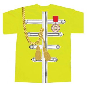 Spike Leissurewear Sgt Pepper Uniform Yellow T-Shirt