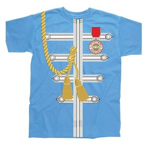 Spike Leissurewear Sgt Pepper Uniform Blue T-Shirt