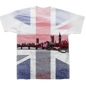 Parliament Union Jack Sublimation T-Shirt
