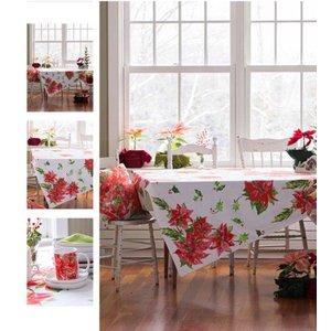 April Cornell April Cornell Poinsettia Tablecloth