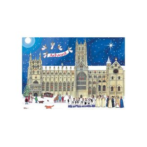 Alison Gardiner Alison Gardiner Christmas At The Cathedral Advent Calendar Card