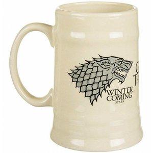 Game of Thrones - Stark Ceramic Stein