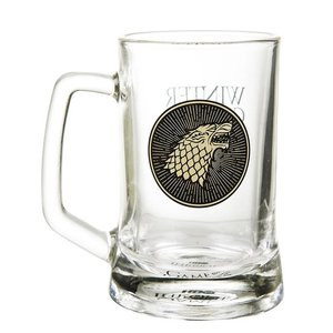Game of Thrones - Stark Glass Stein
