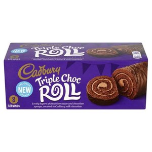 Cadbury Cadbury Triple Chocolate Roll