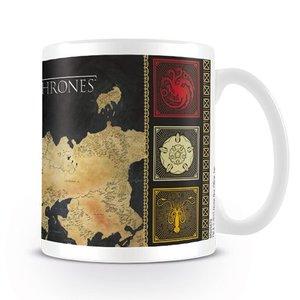 Game of Thrones Map Coffee Mug