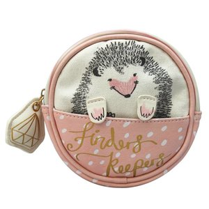 "Disaster Designs Disaster Designs Over the Moon ""Hedgehog"" Make up Bag"