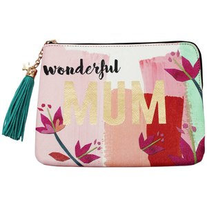 "Disaster Designs Disaster Designs Ta-Daa ""Mum"" Pouch"