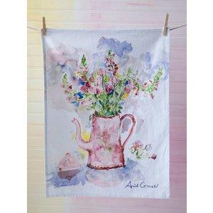 April Cornell April Cornel Tea Party Watercolor Towel