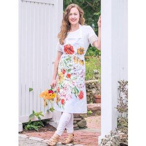 April Cornell April Cornell Zinnia Bouquet Chef Apron