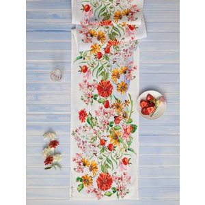 April Cornell April Cornell Zinnia Bouquet Table Runner
