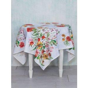 "April Cornell April Cornell Zinnia Bouquet Tablecloth (60""x 90"")"