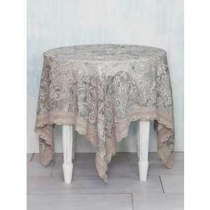 "April Cornell April Cornell Queen's Court Linen Tablecloth (60""x 90"")"