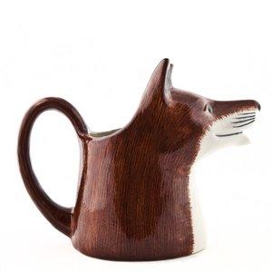 Quail Ceramics Quail Fox Large Jug