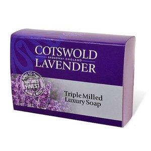 Cotswold Lavender Cotswold Lavender Triple Milled Luxury Lavender Soap 100g