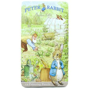 Beatrix Potter Peter Rabbit Coloured Pencil Tin