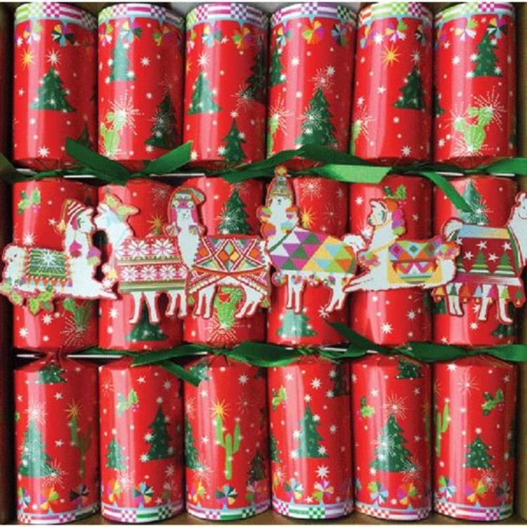 caspari hello dolli christmas crackers - British Christmas Crackers