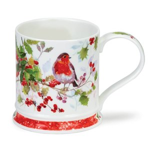 Dunoon Dunoon Iona Christmas Robin Mug