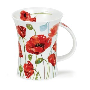 Dunoon Dunoon Richmond Floral Breeze-Poppy