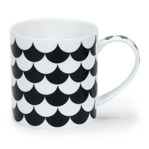 Dunoon Dunoon Orkney Mono Scales Mug