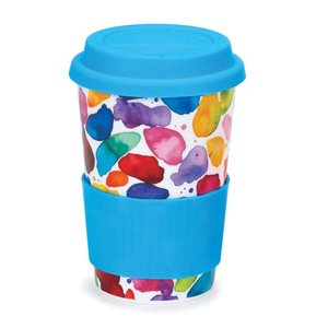 Dunoon Dunoon Travel Mug Blue Blobs!