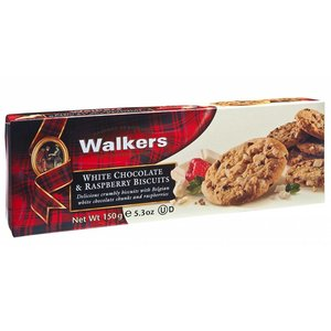Walker's Shortbread Co. Walker's White Chocolate Raspberry Biscuits