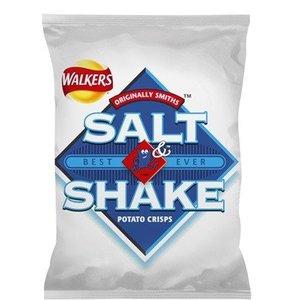 Walker's Walkers Salt & Shake Crisps