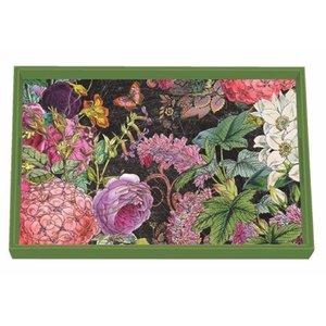 Michel Design Works Michel Botanical Garden Vanity Decoupage Wooden Tray