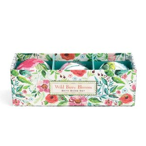 Michel Design Works Michel Wild Berry Blossom Bath Bomb Set