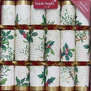 Robin Reed Robin Reed Holly & Mistletoe Crackers