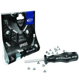 SCHWALBE Kit de crampons Schwalbe avec outil d'installation