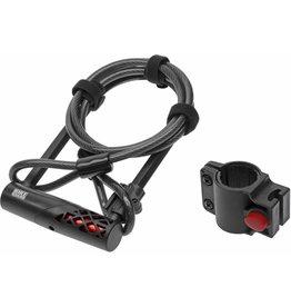 BIKEGUARD Cadenas en U et câble BikeGuard RockLock 1320