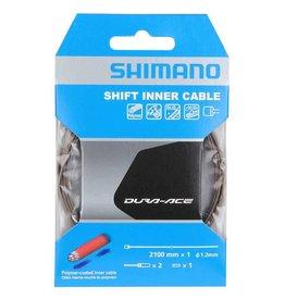 Shimano Câble de vitesse Shimano Inox enduit de polymère