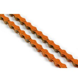 KMC KMC 410 Single Speed Chain - Orange