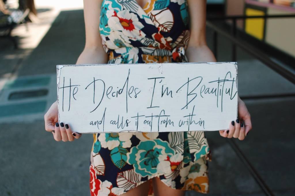 what is beauty? it is I.