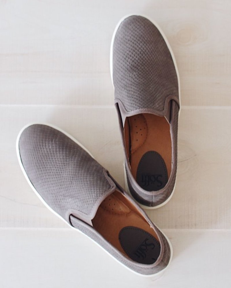 Sofft Somers Slip on Sneaker in Grey