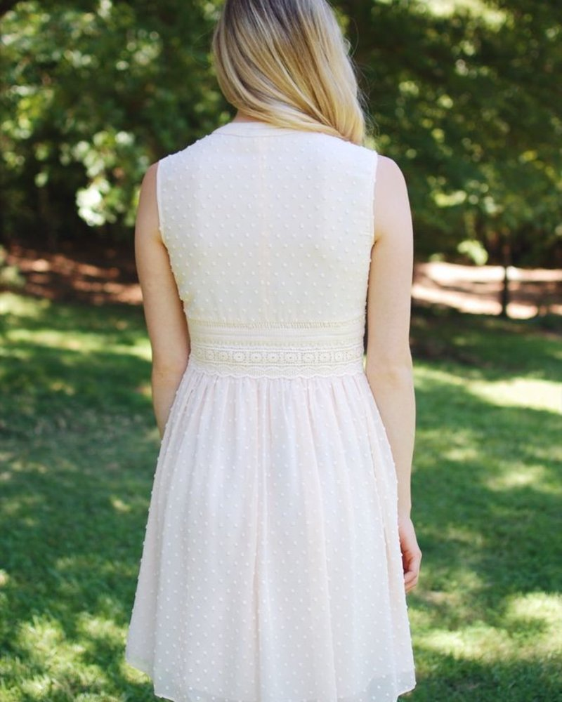The Rosemary Dress in Taupe