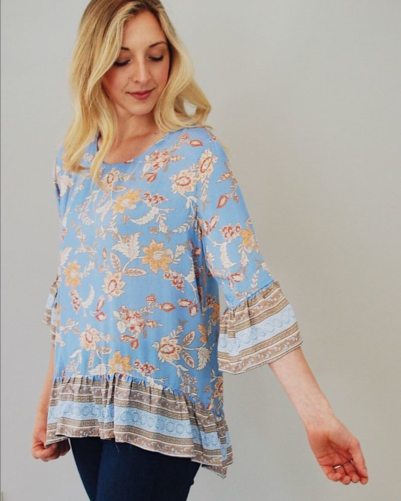 The Dara Bell Sleve Top