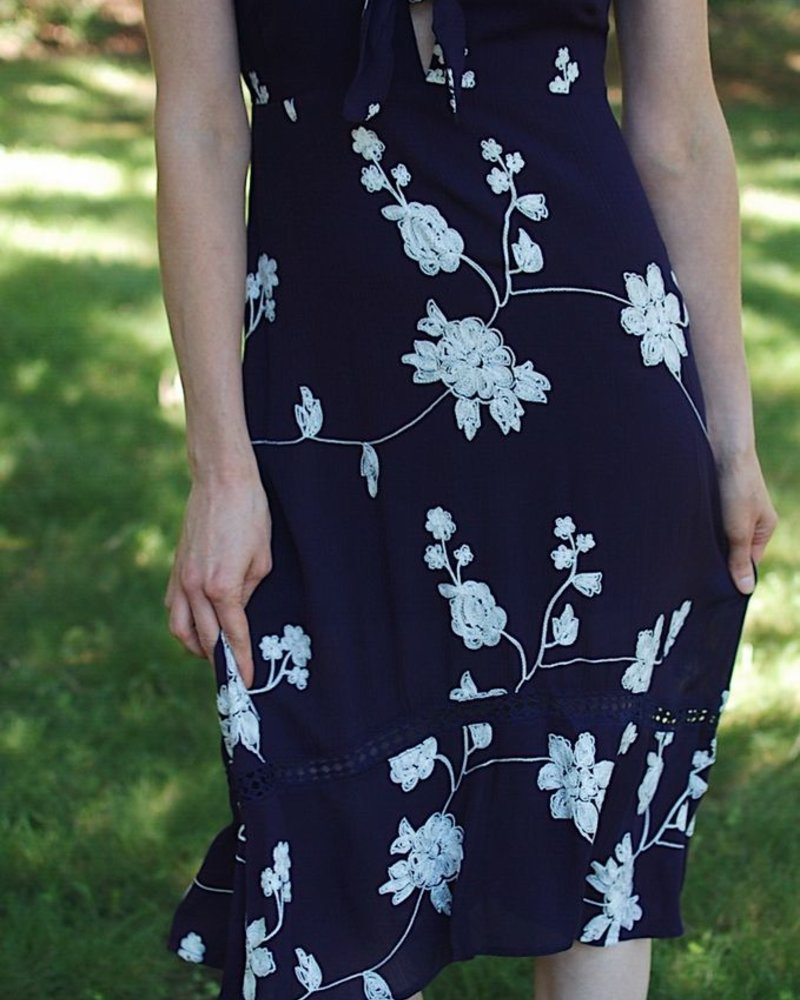 The Courtney Dress in Navy