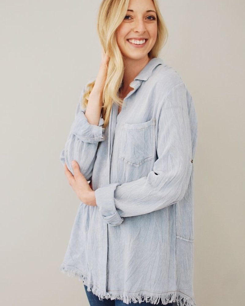 The Caroline Button Down